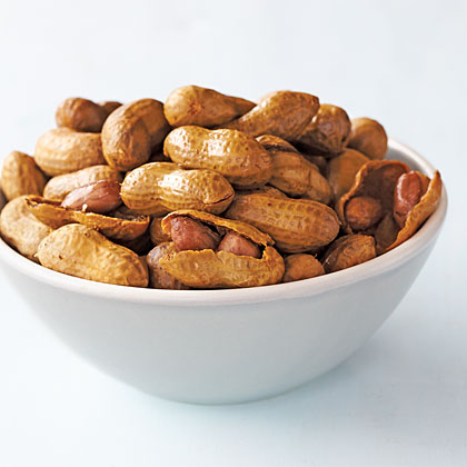 Red Curry Boiled Peanuts