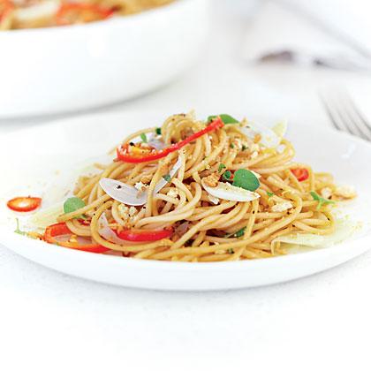Whole-Wheat Spaghetti alla Bottarga