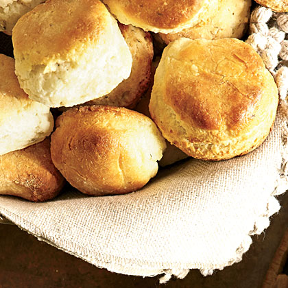 Herb-and-Cream Biscuits