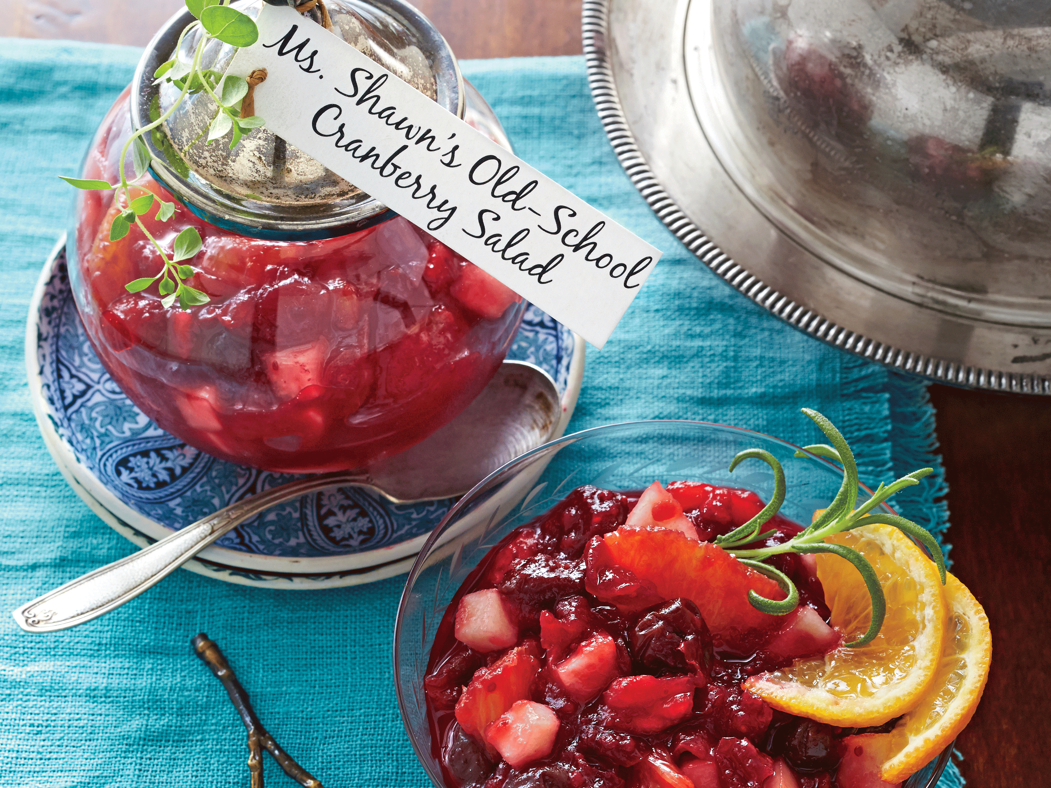 Old-School Cranberry salad recipe (enlarged)