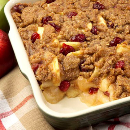 Apple-Cranberry Crisp