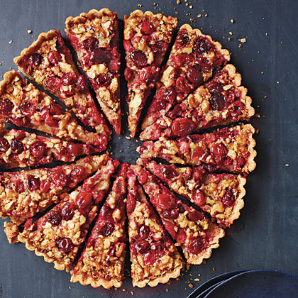 Cranberry-Walnut Tart