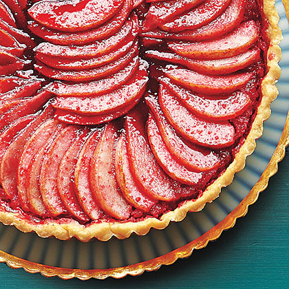 Apple, Pear and Cranberry Tart
