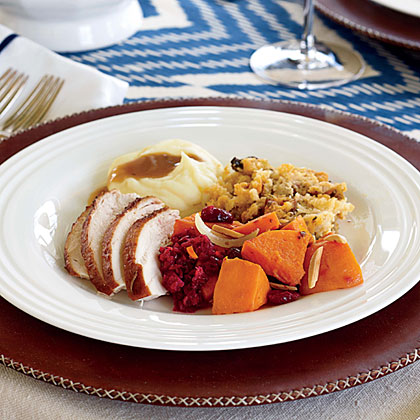 Roasted Turkey and Oyster Stuffing