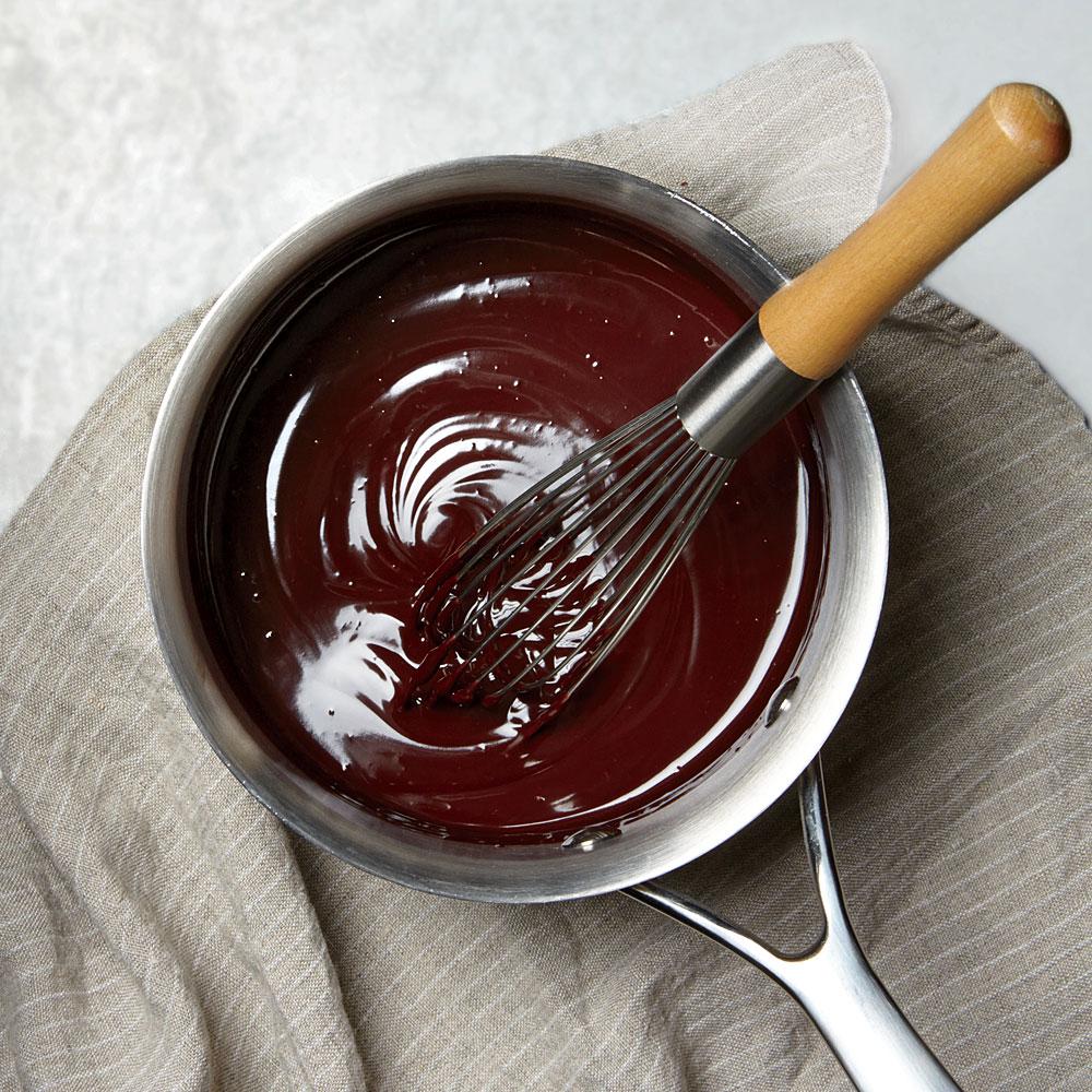 Lighter Chocolate Ganache