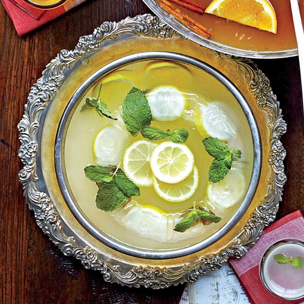 Lemon-Gin Fizzy Punch