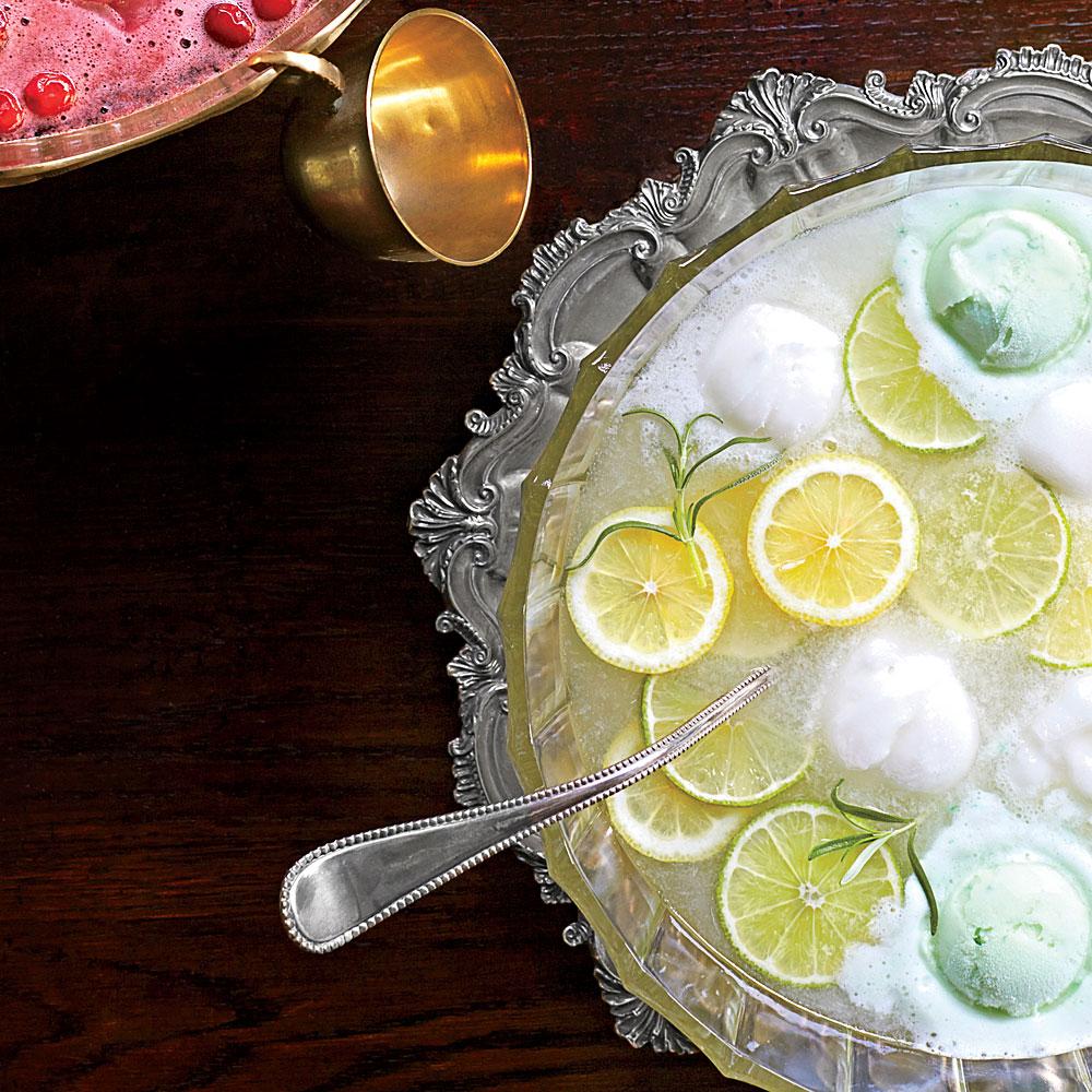 Lemon-Lime Rosemary Punch