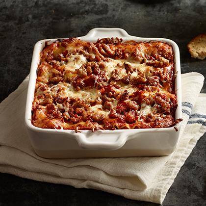 Hot Style Sausage Lasagna