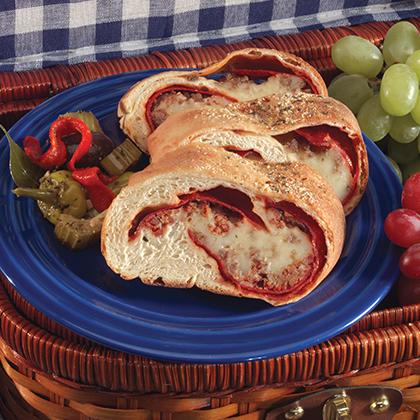 Meat Lover's Stromboli
