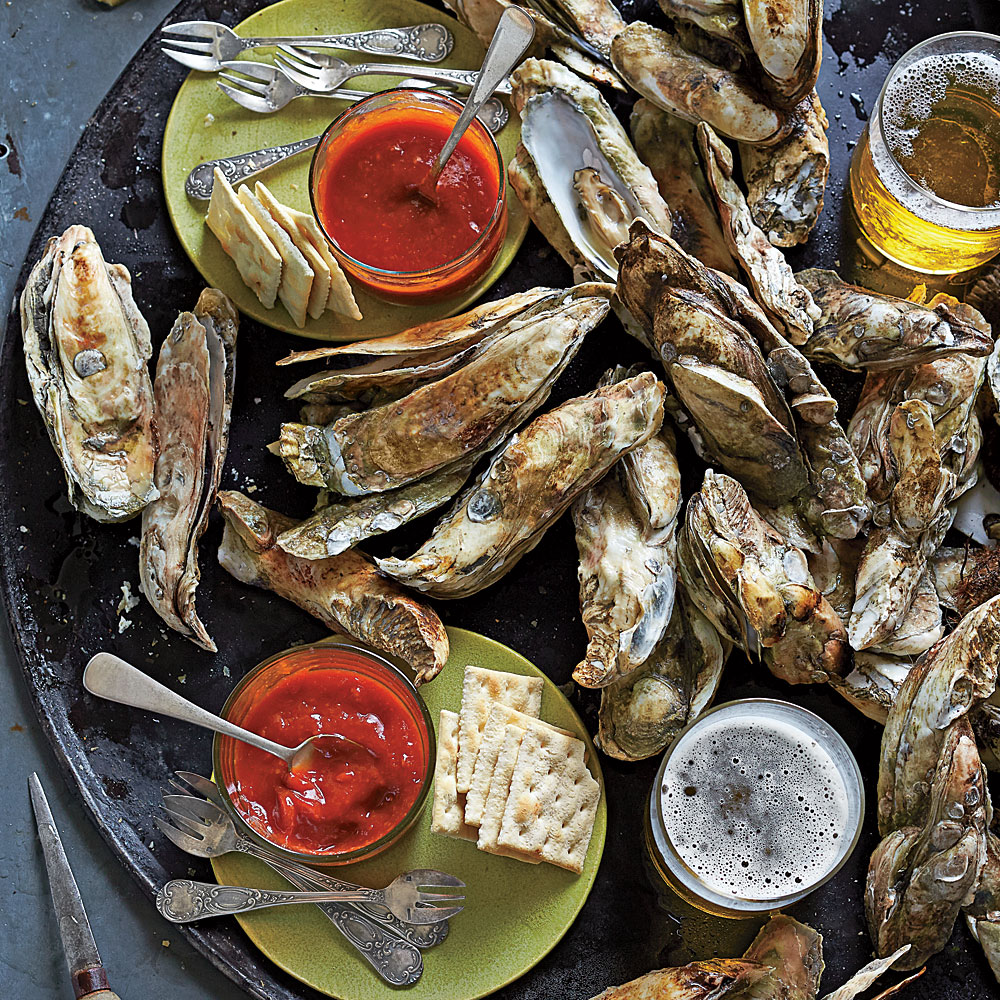 Easy Lowcountry Oyster Roast