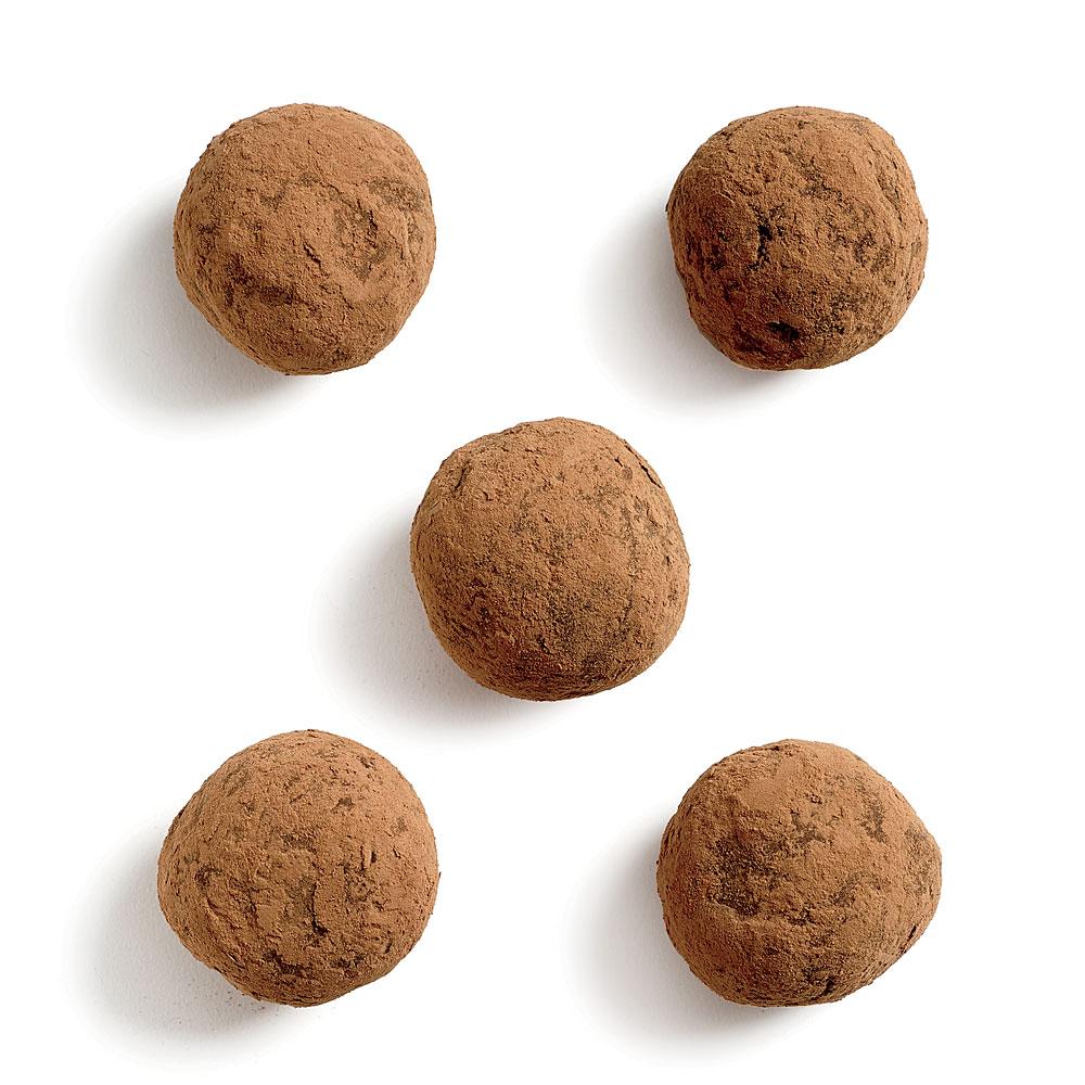 Cocoa Hazelnut Truffles