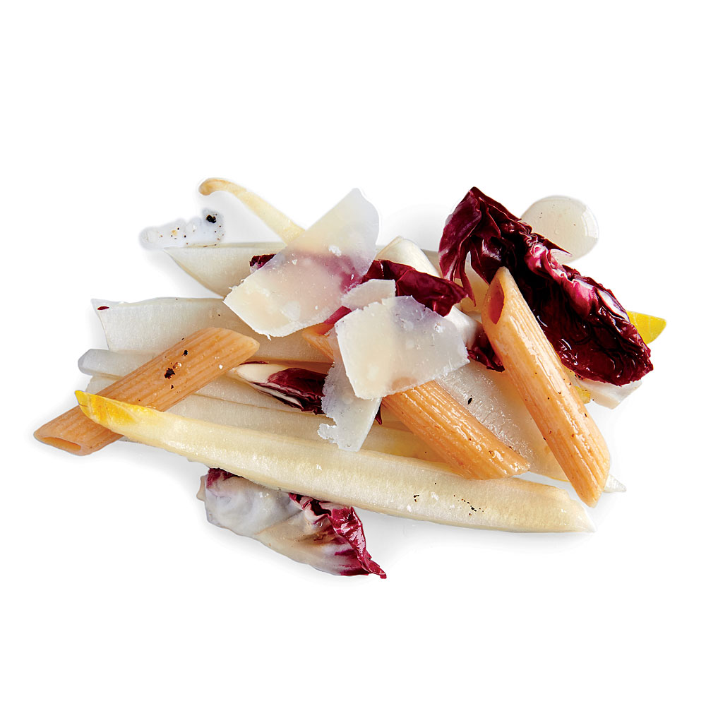 Endive Salad with Pasta and Radicchio
