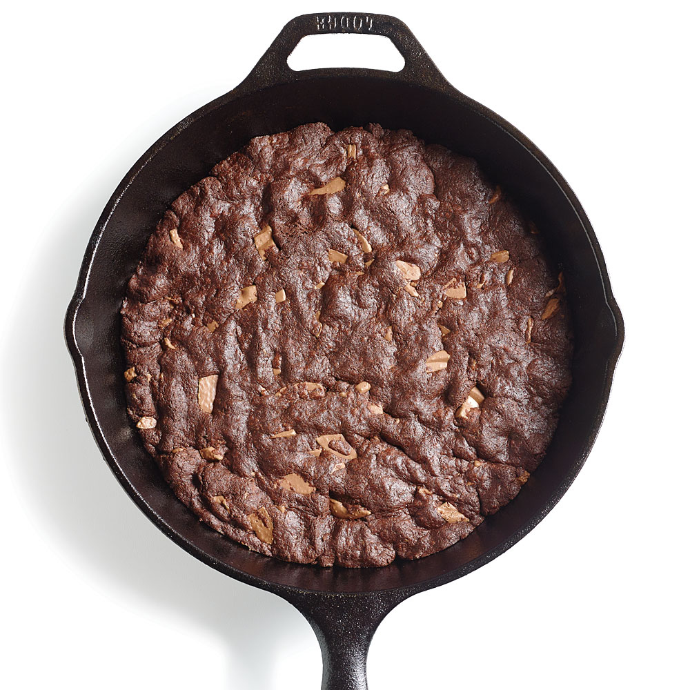 Fudgy Skillet Cookie