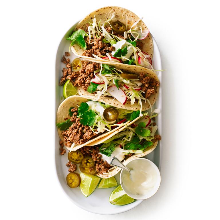 Spicy Lamb Tacos