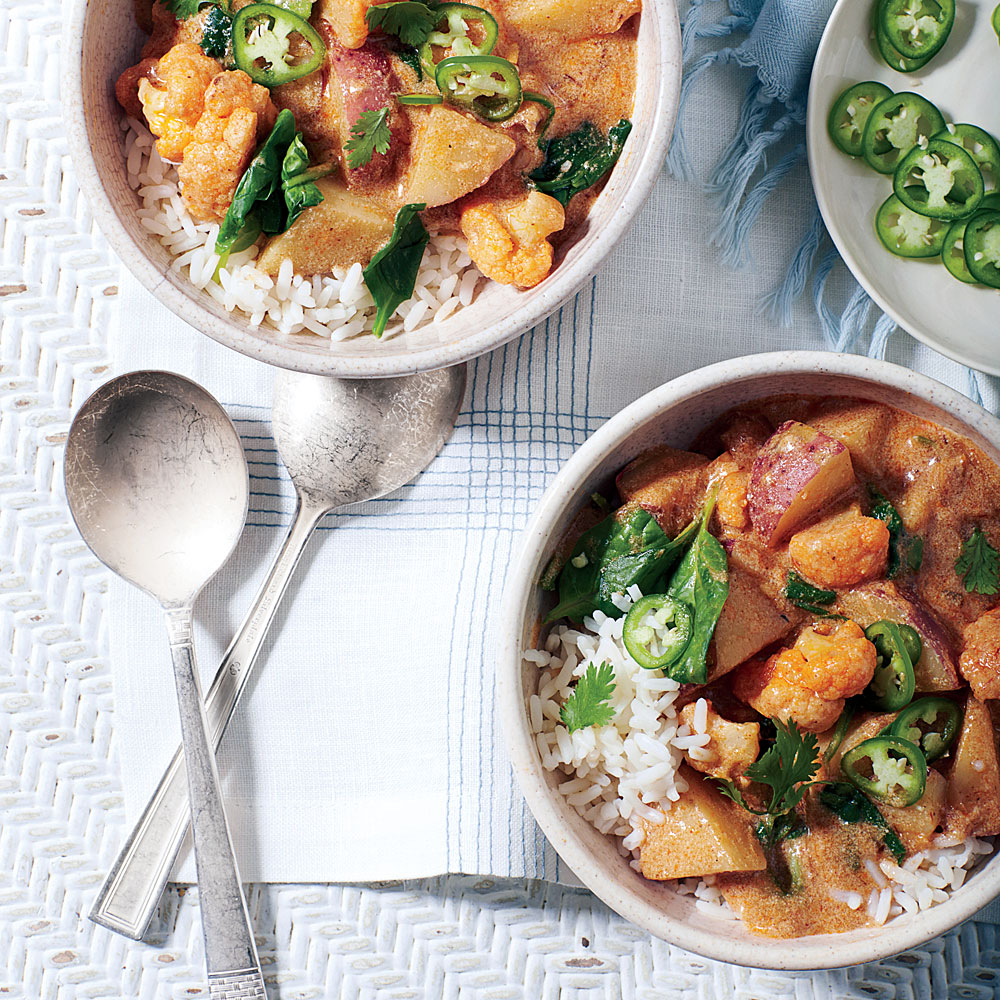 Buttermilk-Vegetable Curry