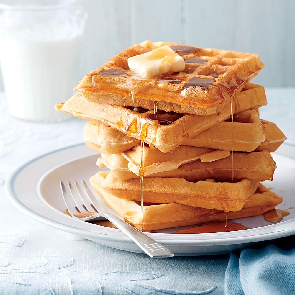 Fluffy Buttermilk Waffles