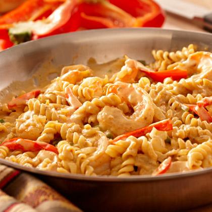 Creamy Seafood Jambalaya Pasta