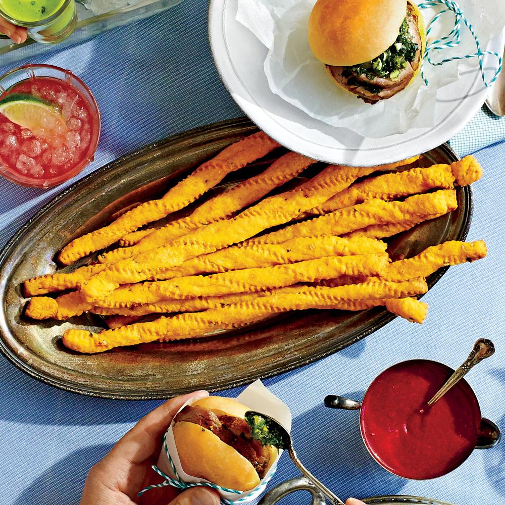 Jalapeño Cheese Straws