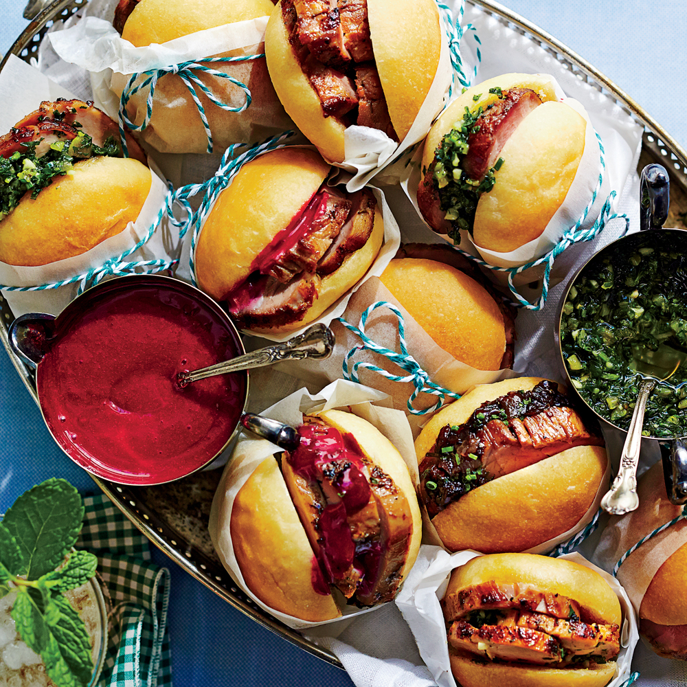 Pork Tenderloin Sliders