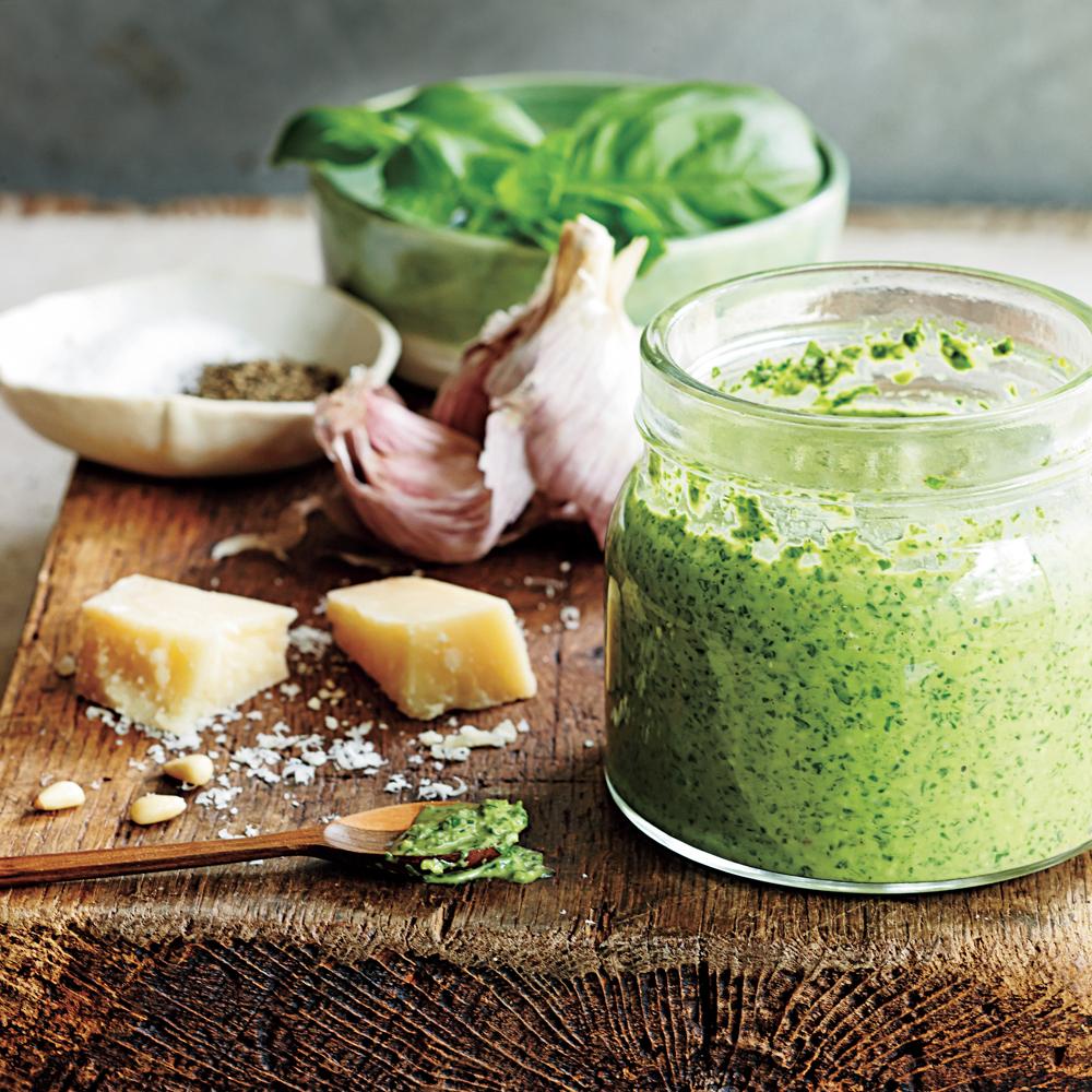 Quick-and-Easy Pesto