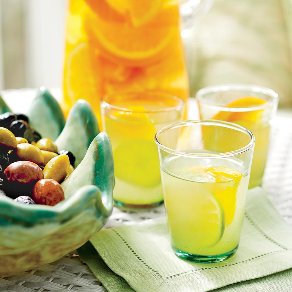 Orange-Infused Rum Gimlets