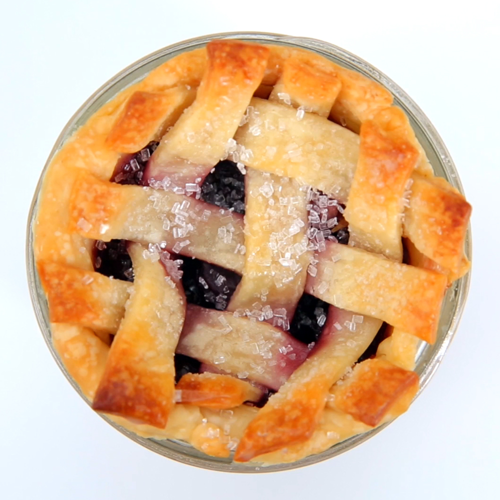 Mason Jar Cherry Pies
