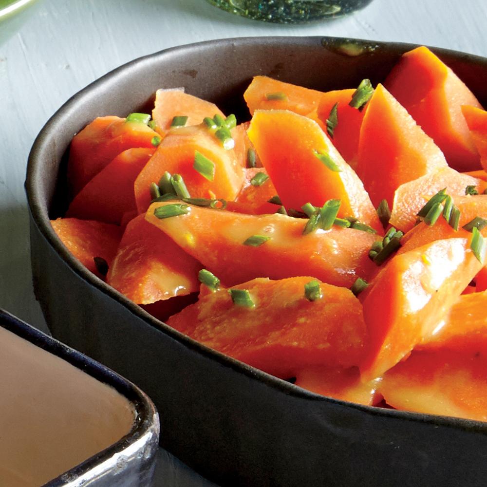 Honey Mustard Glazed Carrots