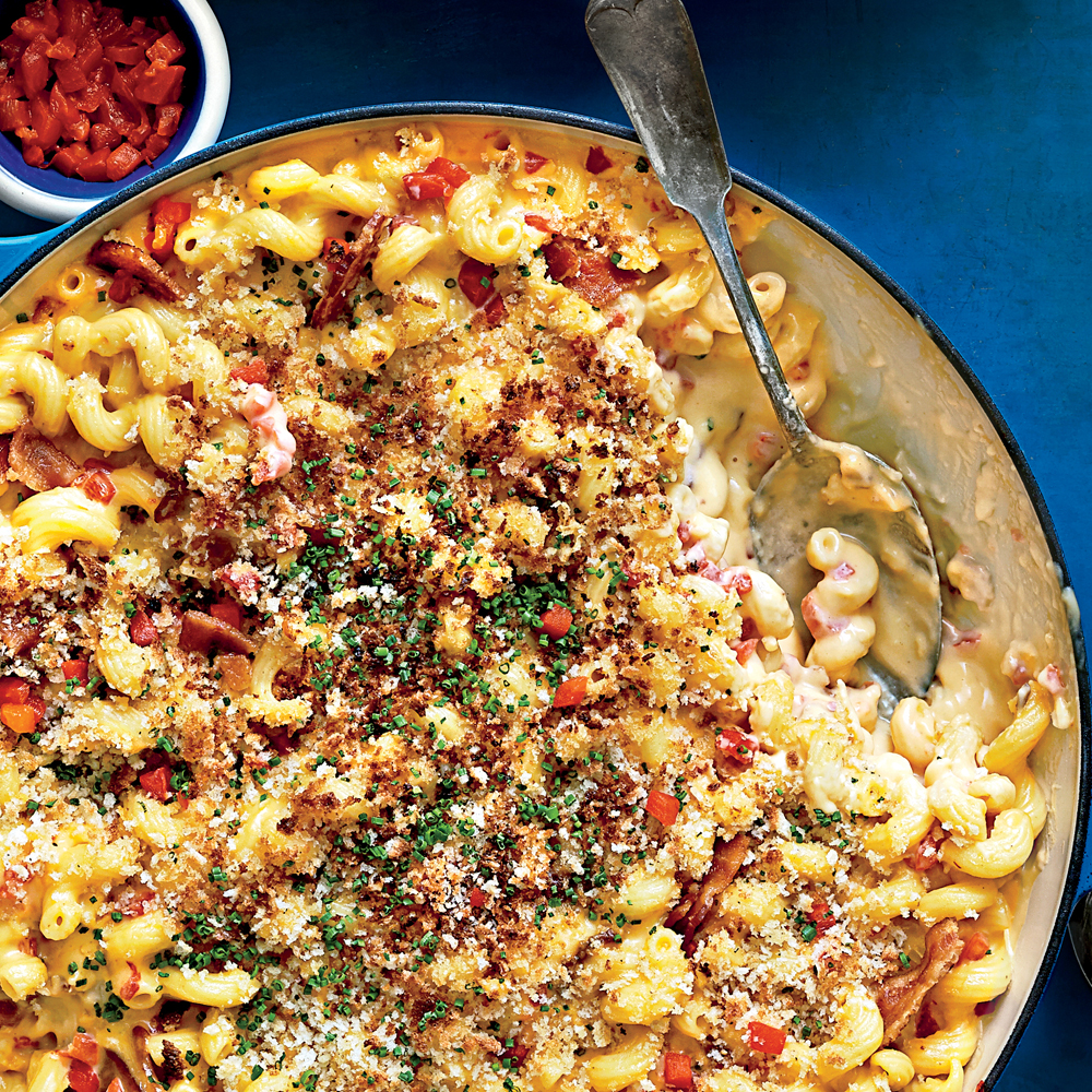 Southern Pimiento Mac and Cheese