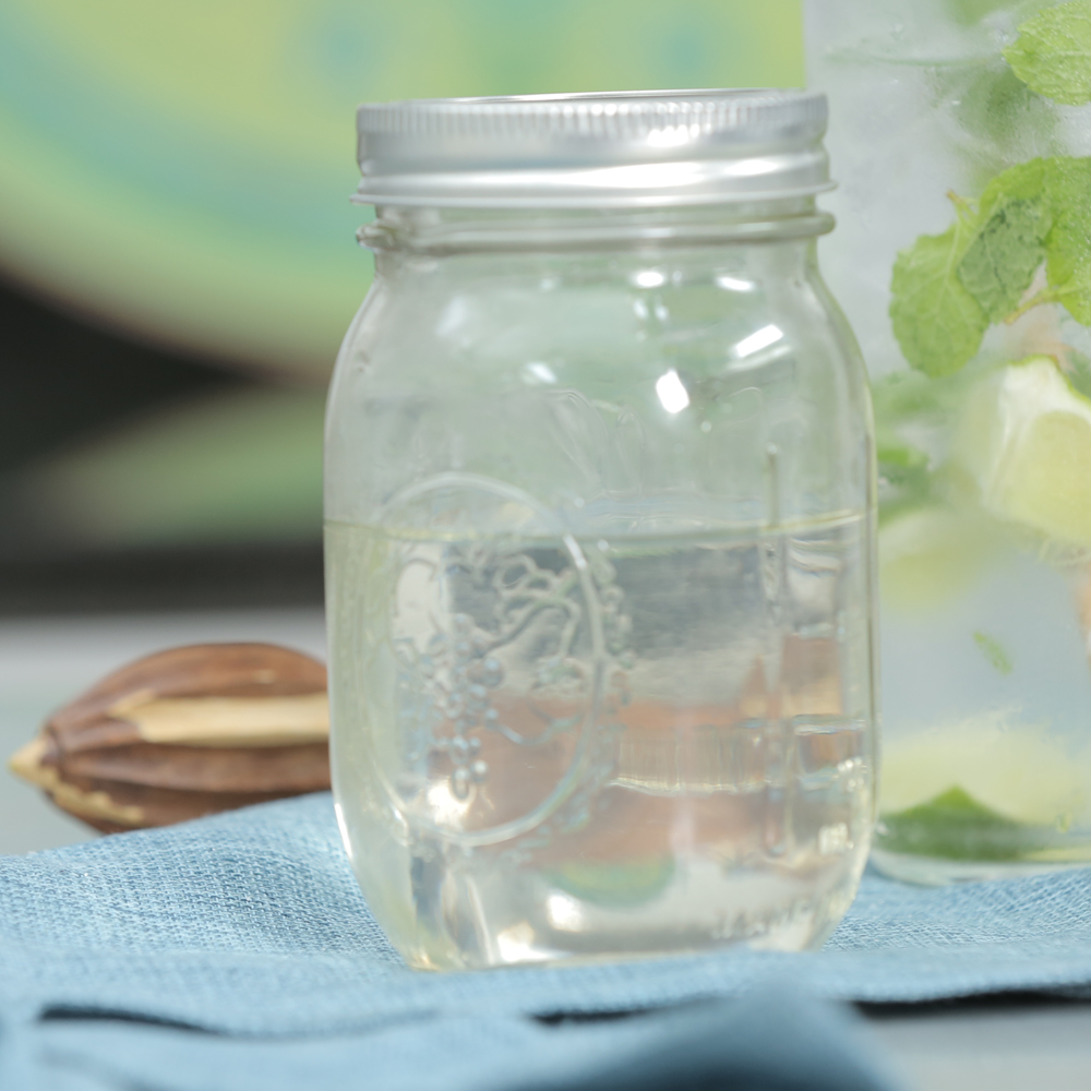 No-Cook Simple Syrup