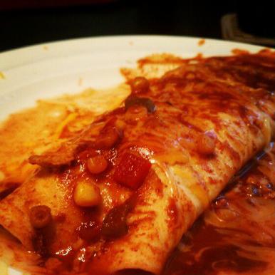 Crock Pot Chicken Enchiladas