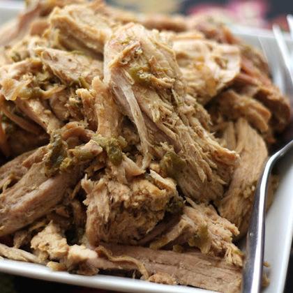 Crock-Pot Green Chile Pulled Pork