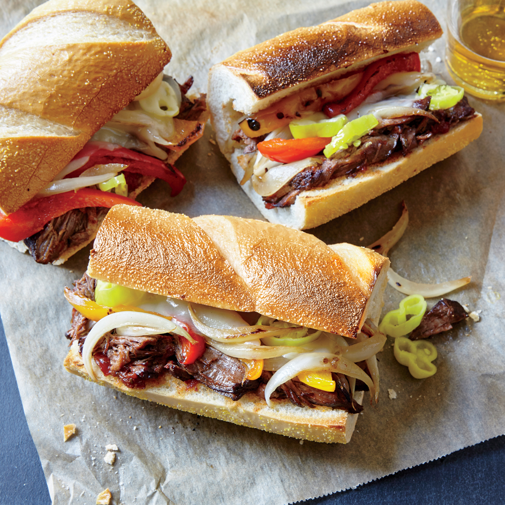Italian-Style Subs with Pepperoncini