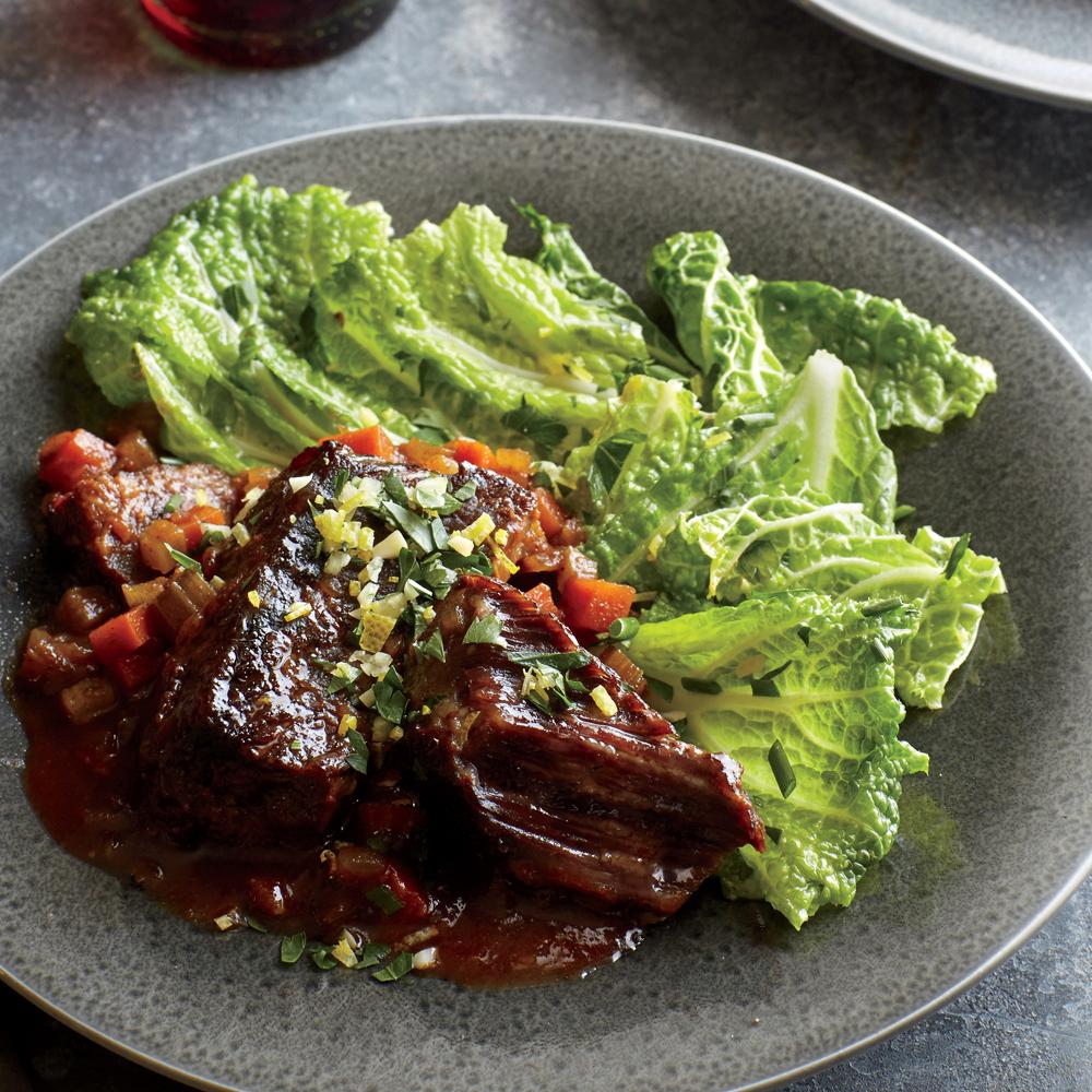 Marinated Savoy Cabbage