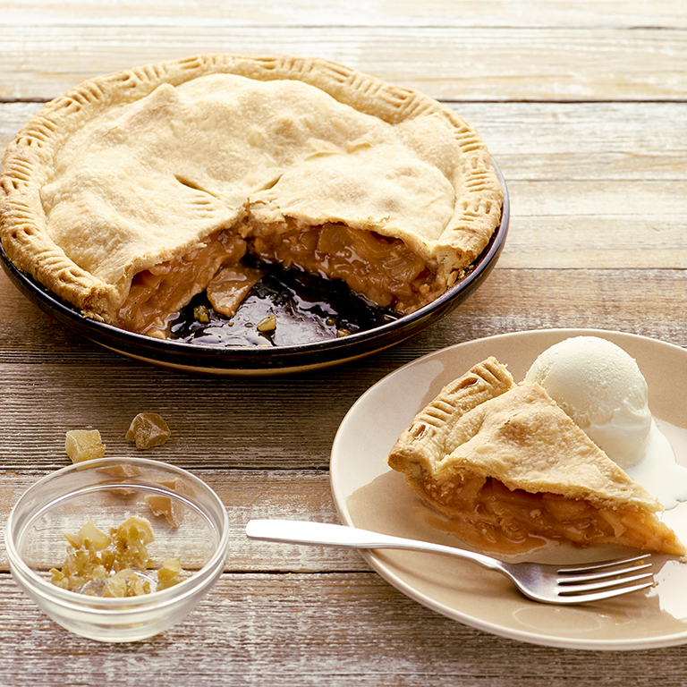 Three-Spice Apple Pie