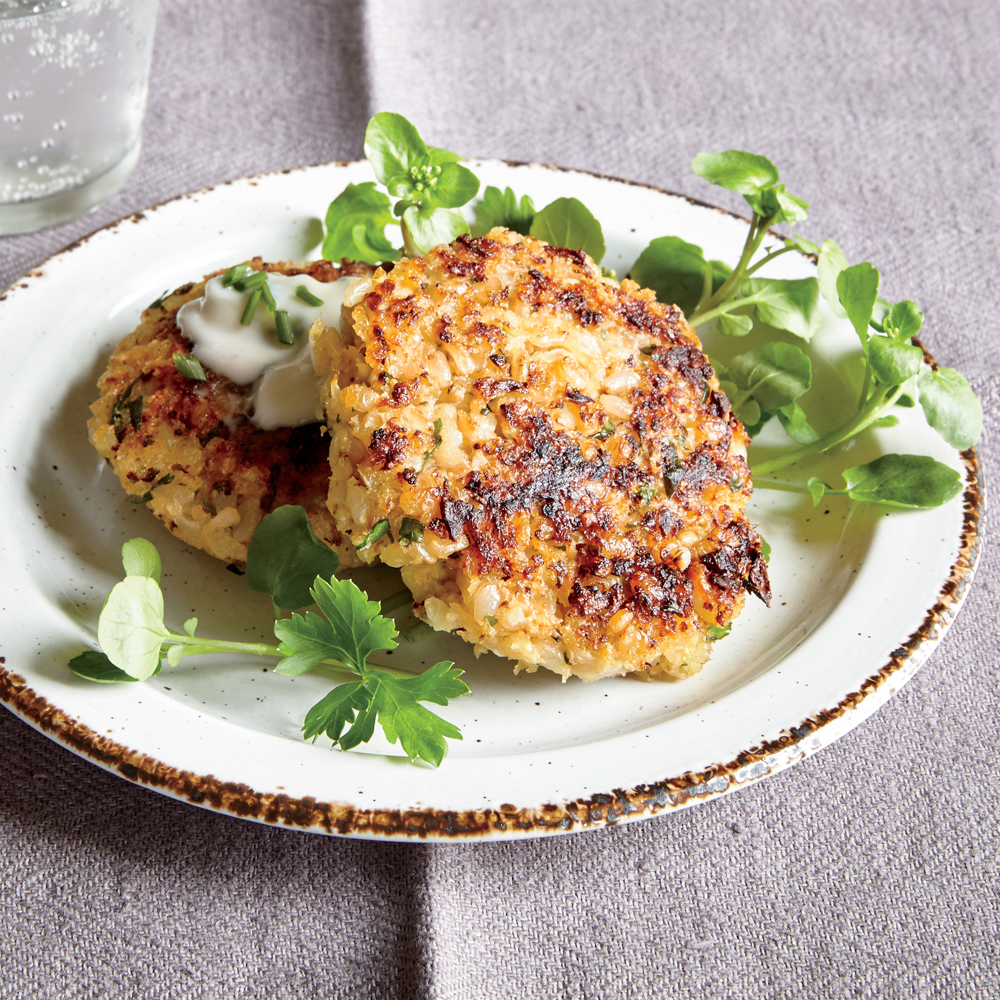 Cauliflower Risotto Cakes