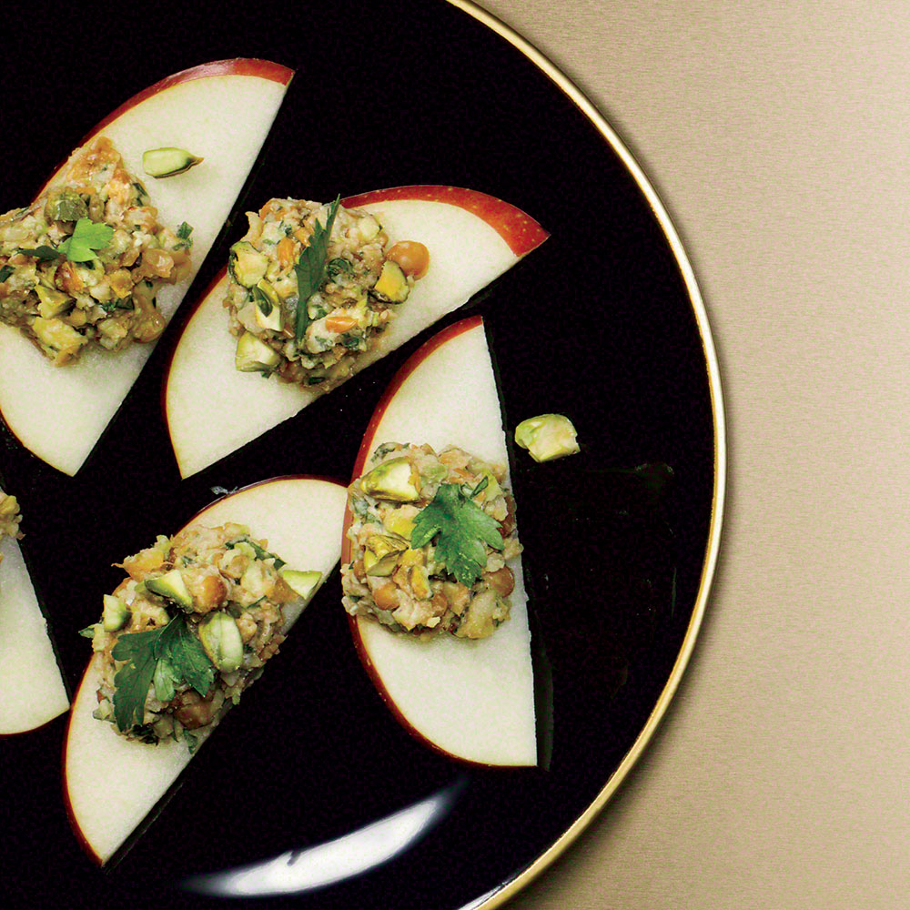 """Lentil """"Pâté"""" with Apples"""