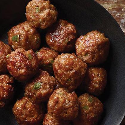 Zesty Sausage Cheese Balls