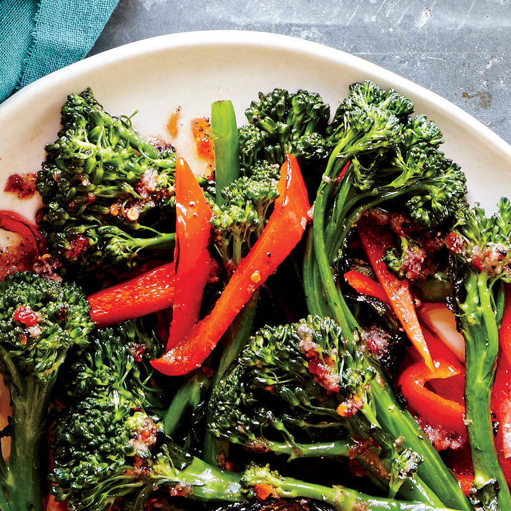Chili Garlic Broccolini