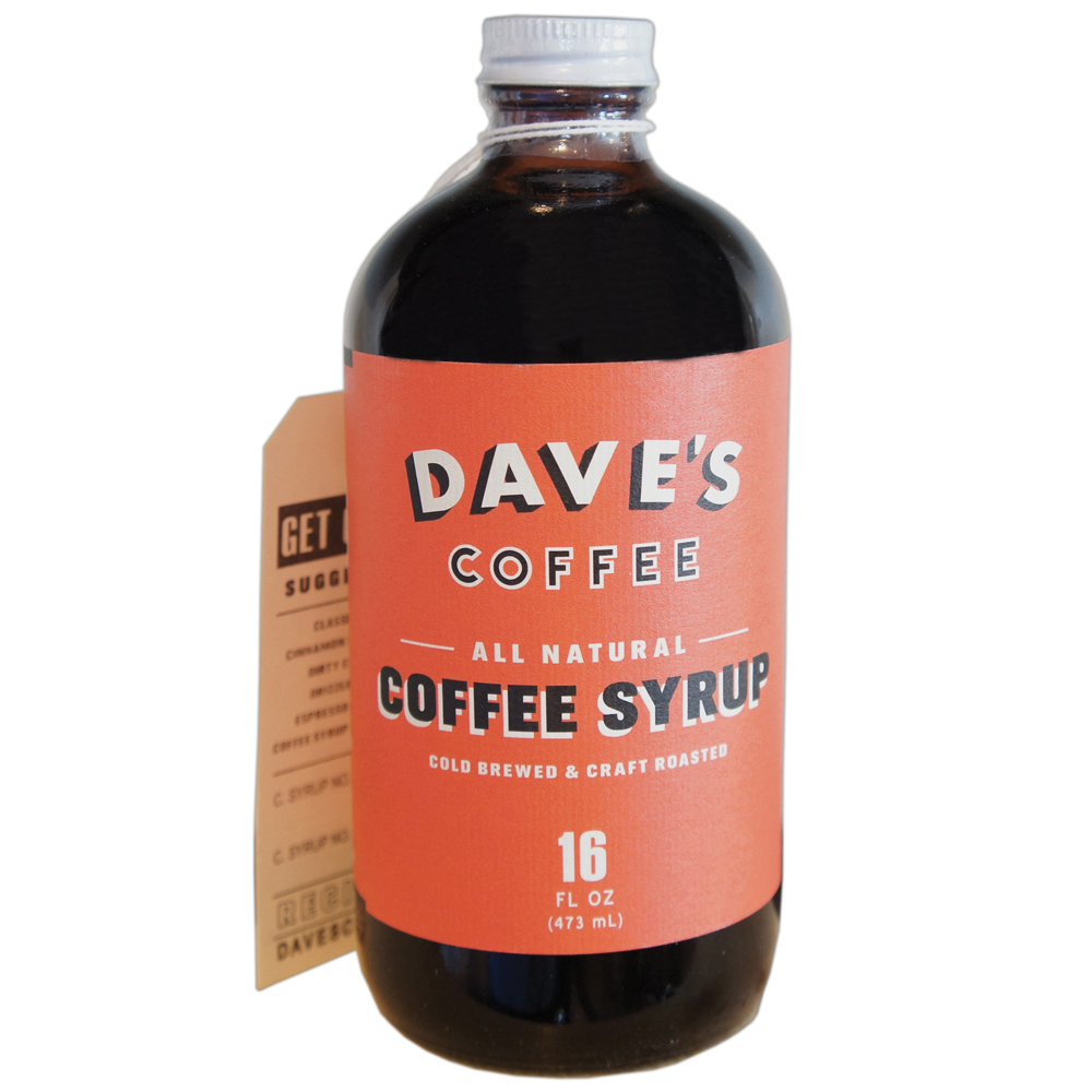 Dave's Coffee Syrup Image
