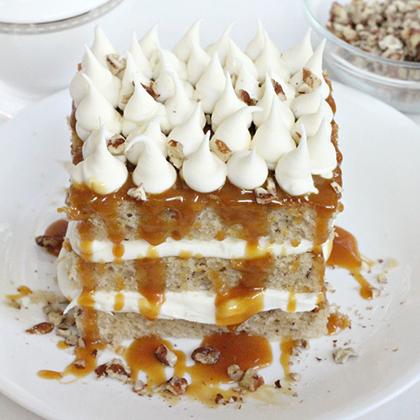 Pecan Tres Leches Cake