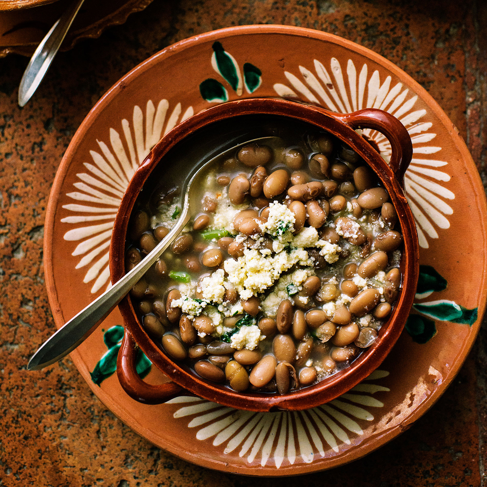 Simple Pot-Cooked Beans (Frijoles de la Olla)