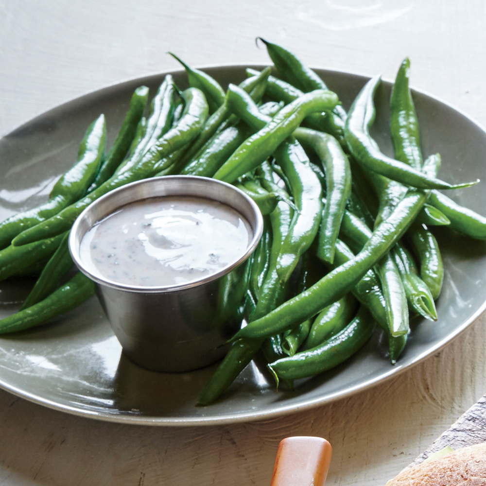 Green Beans with Dilly Sauce