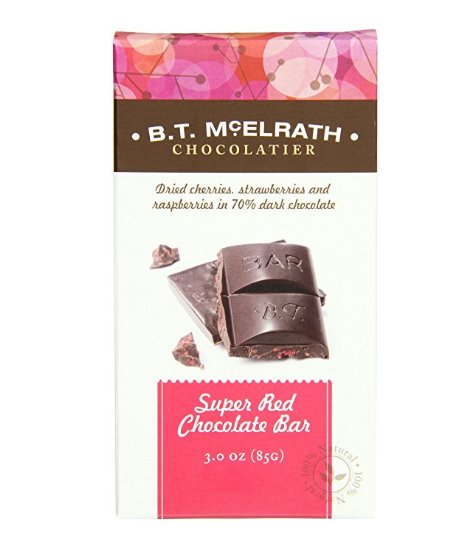 BT McElrath's Super Red Chocolate Bar