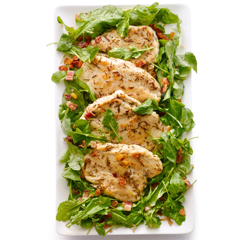 Rosemary Chicken Paillards