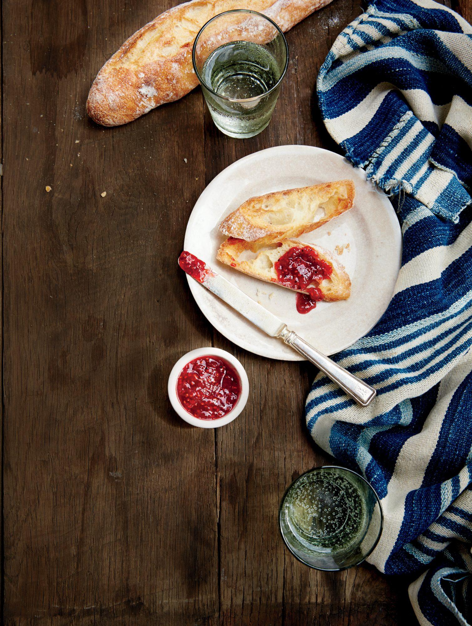 Fresh Raspberry Vanilla Preserves