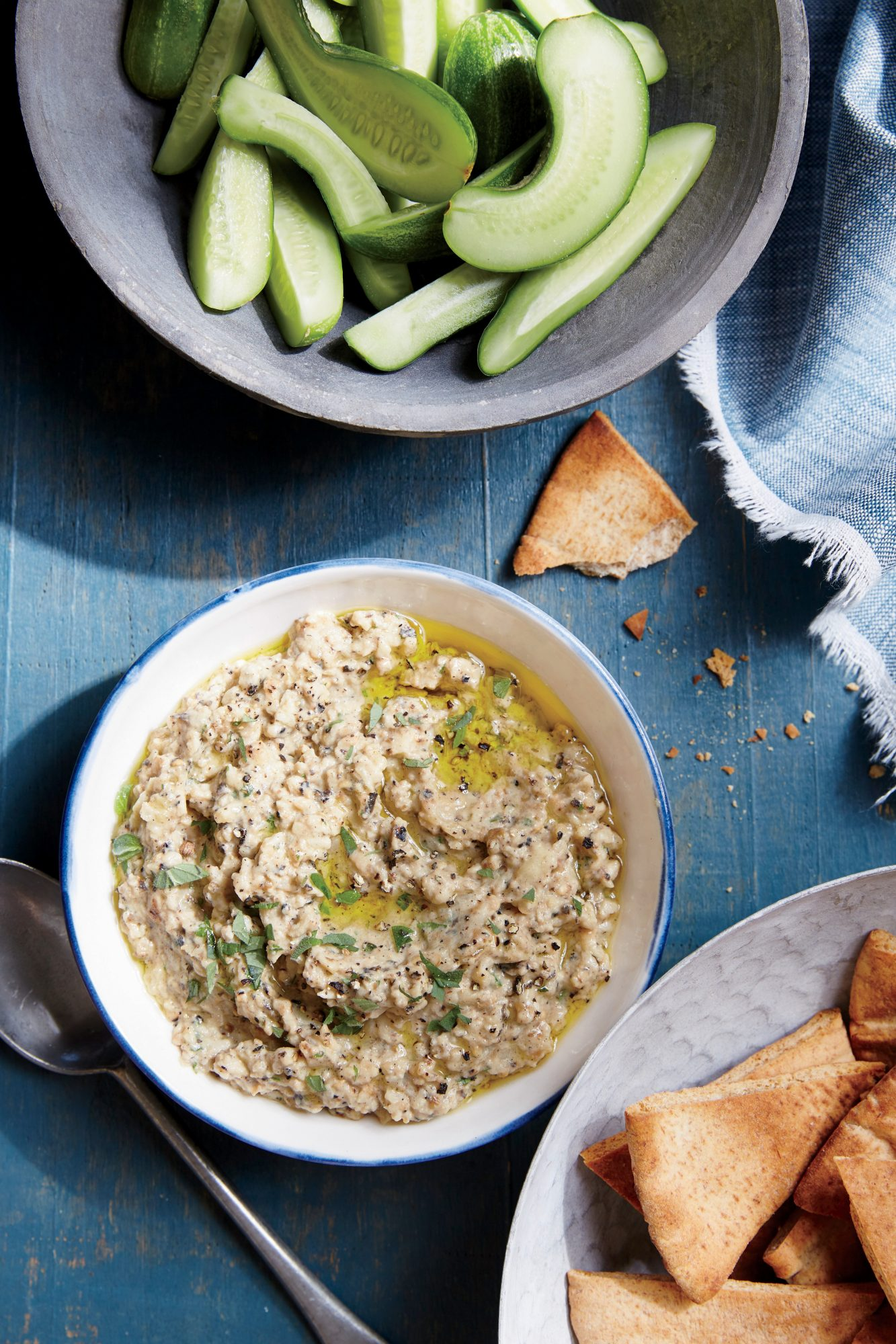 Grilled Baba Ghanoush