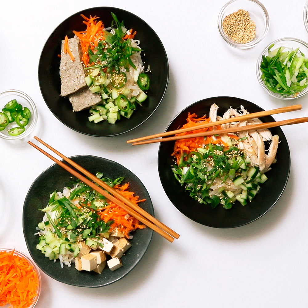 Banh Mi Rice Noodle Bowl