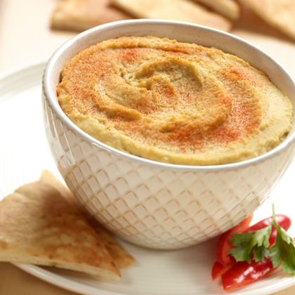 Garlic and Lemon Vegetable Hummus
