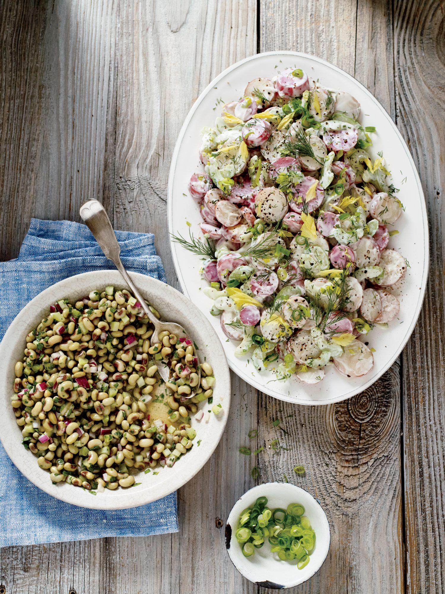 Marinated Field Peas
