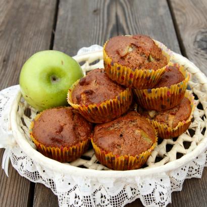 Gluten-Free Almond-Apple Muffins